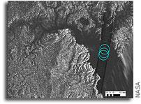 Cassini Examines Hydrocarbon Ocean on Titan