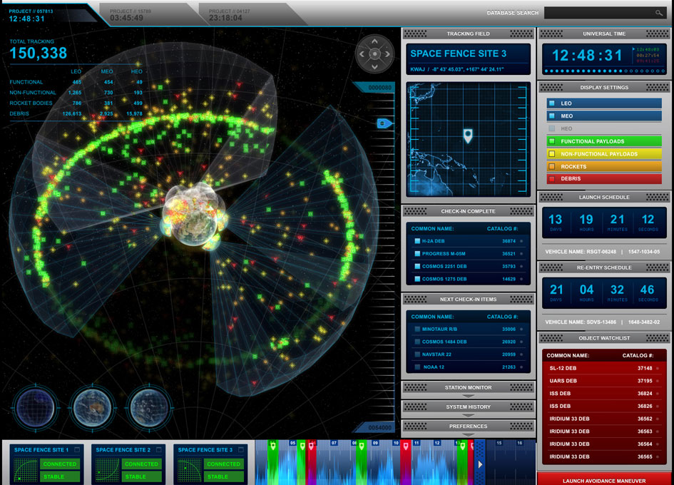 Lockheed Martin Awarded Space Fence Radar System Contract