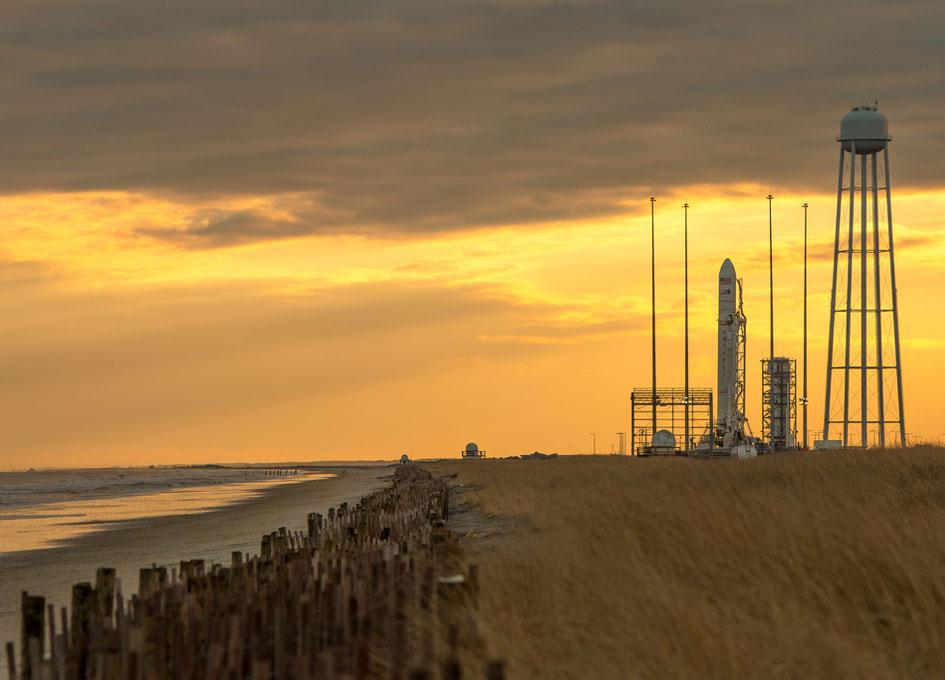 Antares Rocket Preparation - SpaceRef