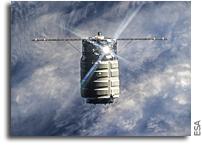 Orbital's Cygnus-1 Departs ISS