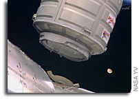 Orbital Sciences' Cygnus Spacecraft Docks With Space Station