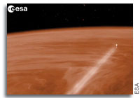 Venus Express to Daringly Plunge into Venus's Atmosphere