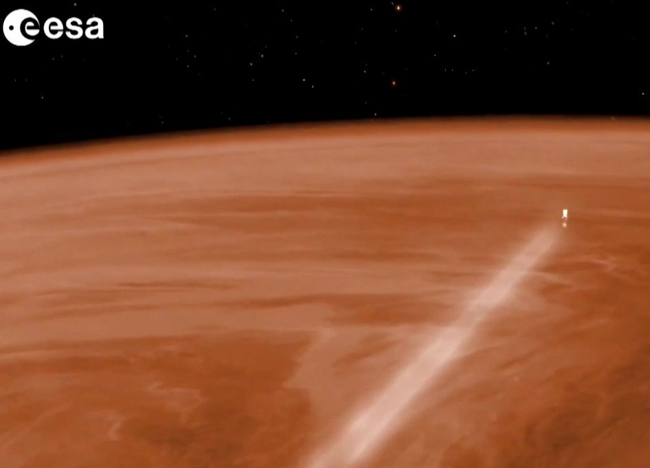 Venturing into the Upper Atmosphere of Venus - SpaceRef