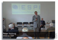 ESPI Holds The Governance of Space Conference