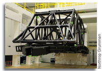 Northrop Grumman, ATK Complete Testing of Backplane for NASA's James Webb Space Telescope