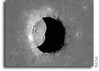 Lunar Pits Could Shelter Astronauts