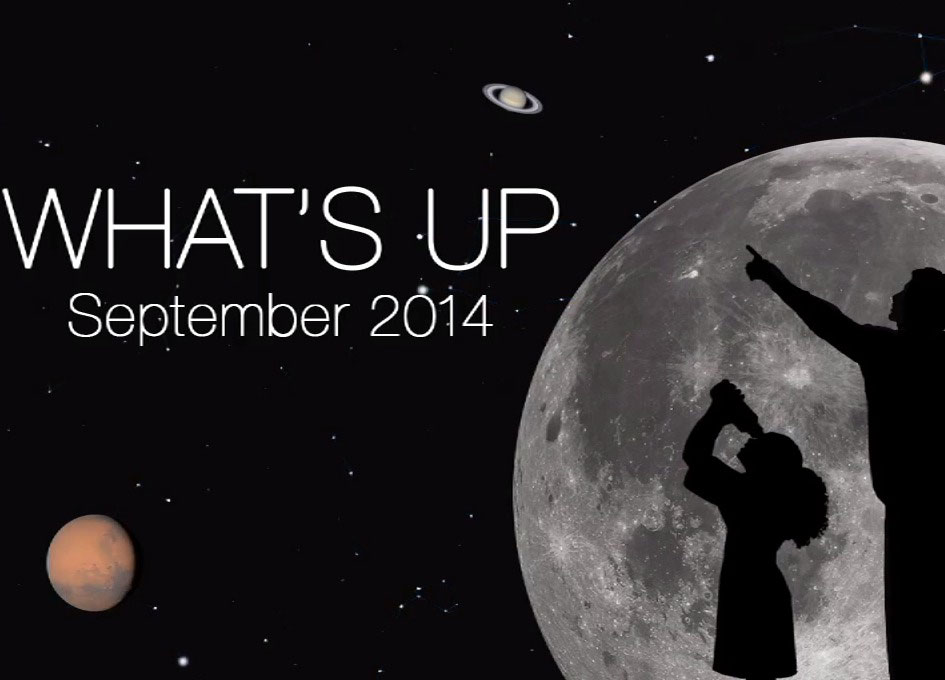 What's Up for September 2014 - SpaceRef