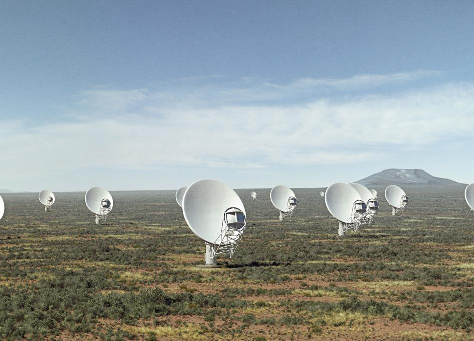 Meerkat Radio Telescope Foundations Complete Spaceref