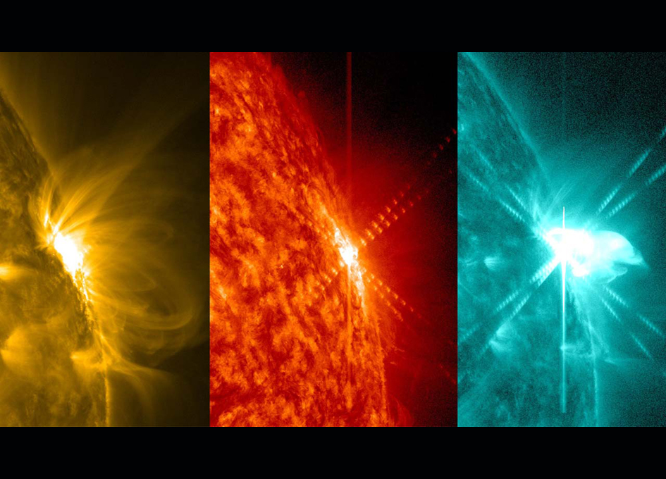 Solar Flare Seen by Solar Dynamics Observatory - SpaceRef
