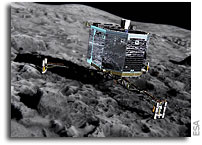 Philae Comet Lander Faces Eternal Hibernation