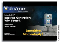 Google Lunar XPRIZE Team Hangout - Inspiring Generations with SpaceIL