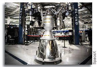 SpaceX Reaches Milestone With 100th Merlin 1D Engine