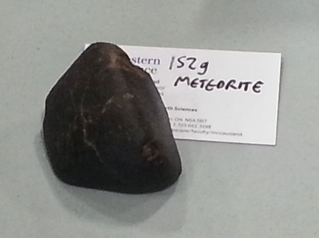Small meteorite which could be similar to St. Thomas meteorite.