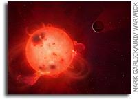 Radiation Blasts Leave Most Earth-like Planet Uninhabitable