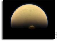 Monstrous Ice Cloud in Titan's South Polar Region