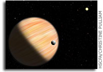 Spitzer, OGLE Spot Planet Deep Within Our Galaxy