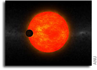 An Exoplanet Too Big For Its Star