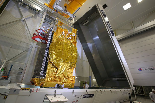 DIRECTV 15, The Most Powerful US Broadcast Satellite ...