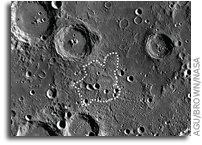 Mound Near Lunar South Pole Formed by Unique Volcanic Process