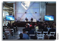 Video: Boeing Grand Opening of Revamped Commercial Crew and Cargo Processing Facility