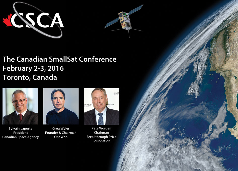 New Canadian Small Satellite Conference Caters to a Growing Demand