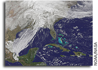 Satellite Animation Shows Powerful Storm in Central U.S.