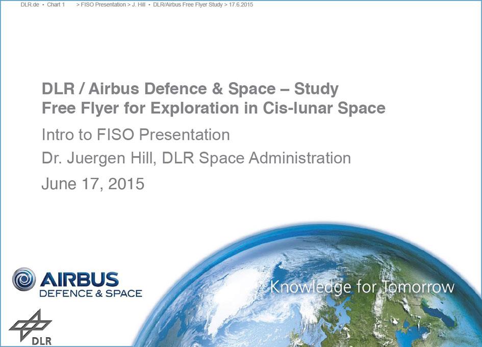 NASA FISO Presentation: The German Free Flyer Study - SpaceRef