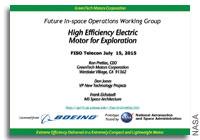 NASA FISO Presentation: High-Efficiency Electric Motors/Generators for Exploration