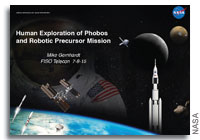 NASA FISO Presentation: Human Exploration of Phobos