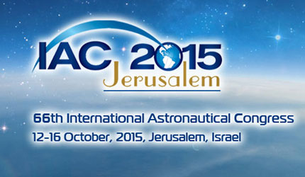 2015 International Astronautical Congress - Jerusalem - October 12-16