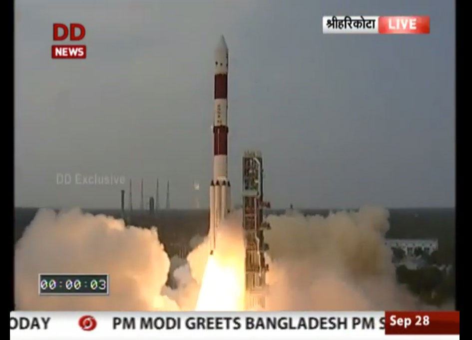 India Launches ASTROSAT Observatory with Canadian Contribution and exactEarth Satellite