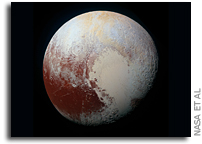 Pluto's Striking Surface Variations