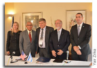 ‏NASA and Israel Space Agency Sign Cooperation Agreement