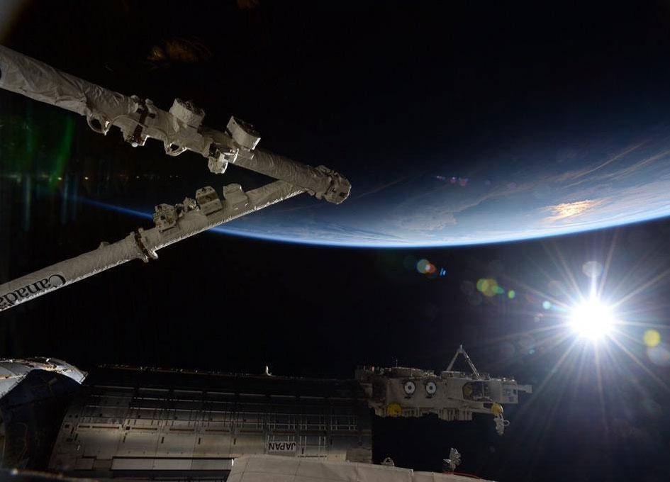 NASA ISS On-Orbit Status 9 June 2015 - SpaceRef