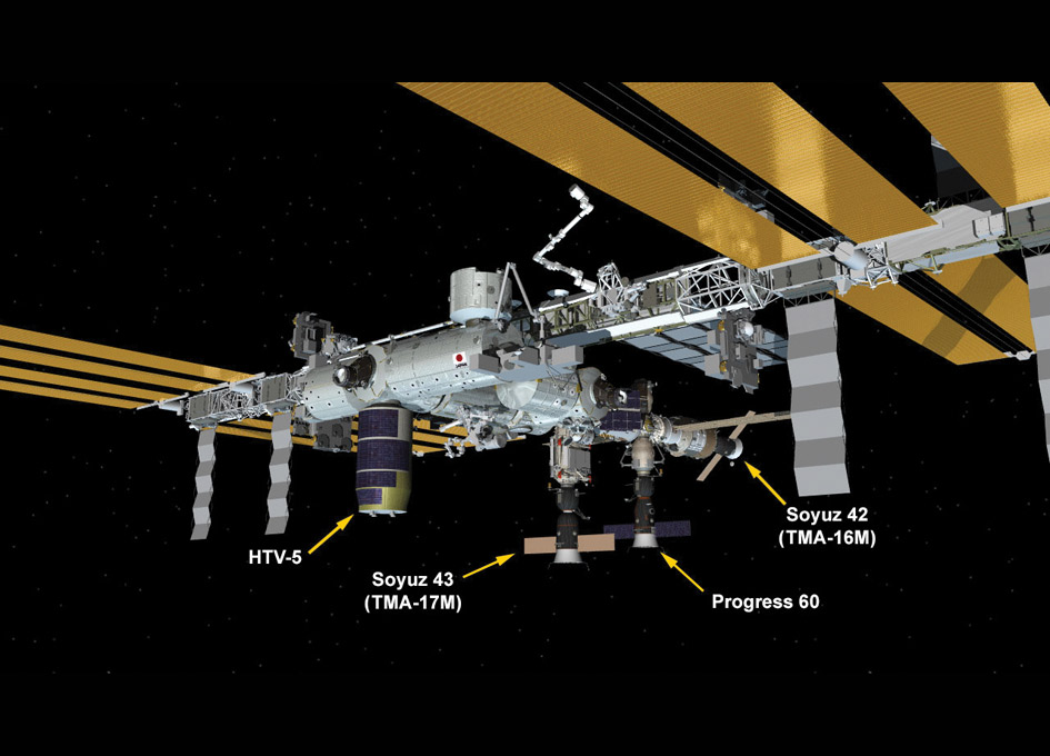 International Space Station: August 2015 | SpaceRef