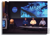 NASA News Conference - Water Flows on Mars Today