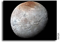 Charon Reveals a Colorful and Violent History