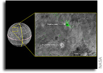 The Youngest Crater on Charon?