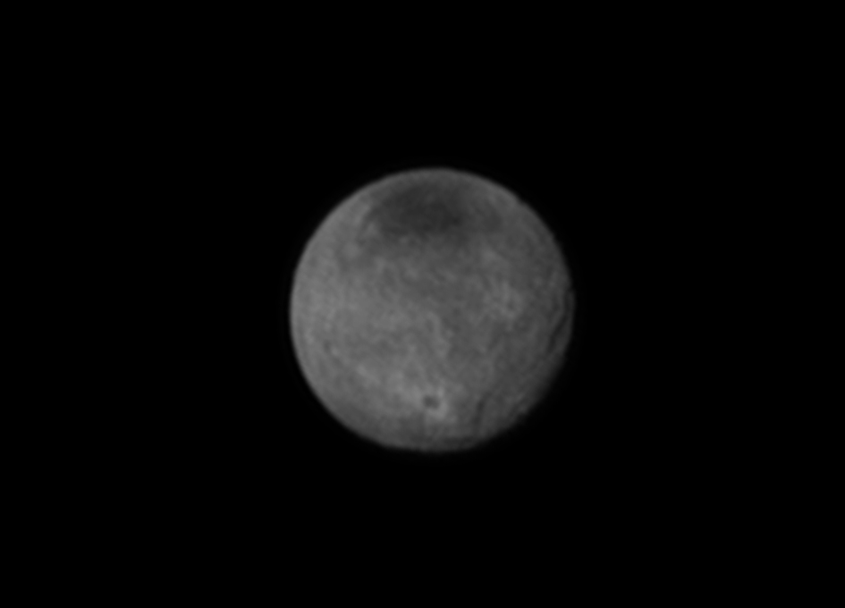 Charon Moon: Charon's Chasms And Craters