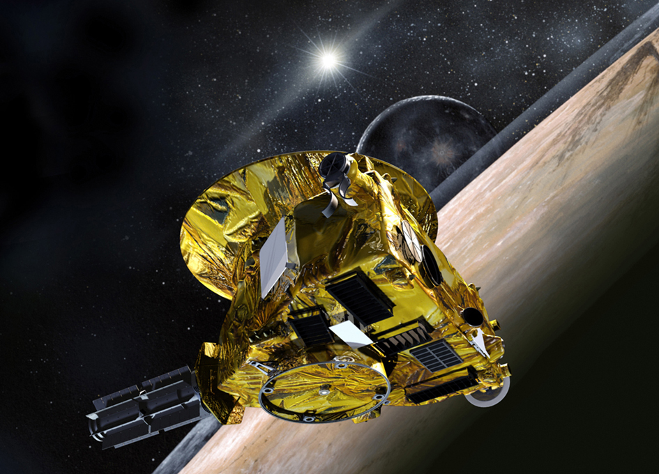 New Horizons Phones Home Safe after Pluto Flyby - SpaceRef