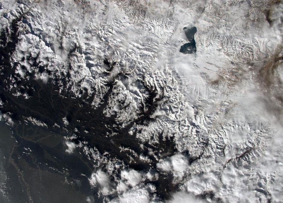 nasa himalayas from space - photo #19