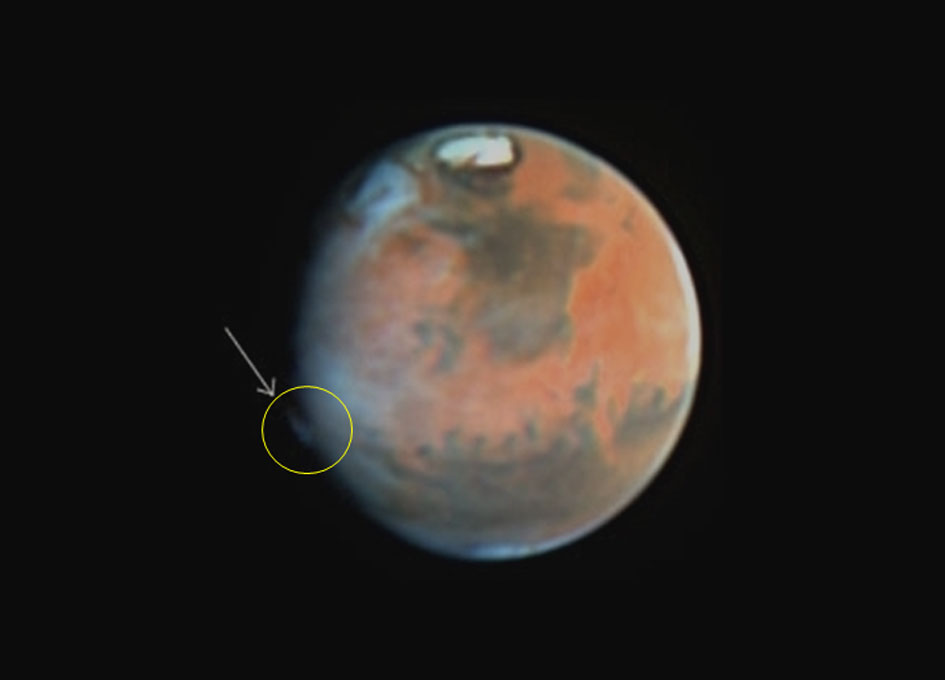 hubble telescope weird thing in mars - photo #16