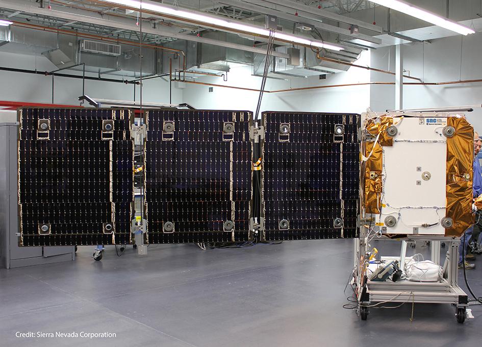 Sierra Nevada Expands Solar Array Design Test And