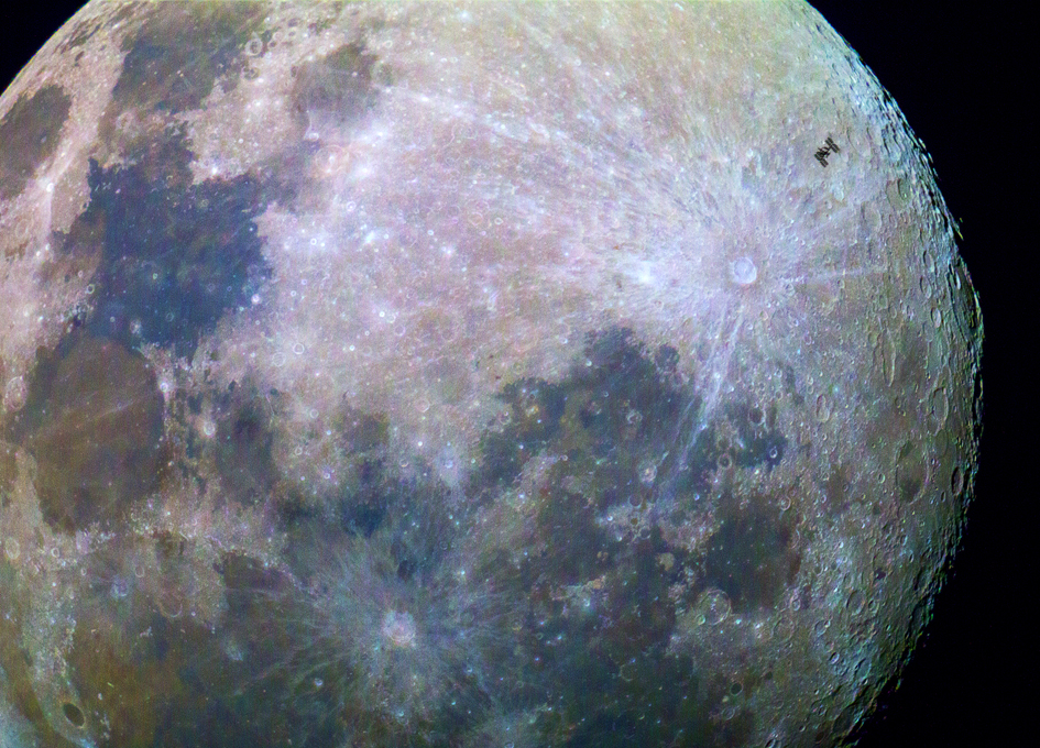 Watching The International Space Station Transit The Moon