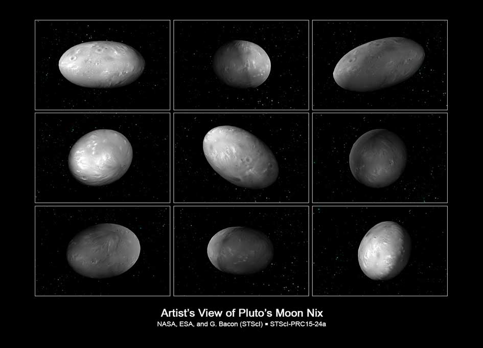 Kerberos Moon Of Plluto: Hubble Finds Two Chaotically Tumbling Pluto Moons