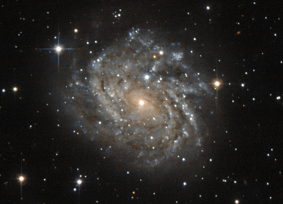 Hubble Looks at Spiral Galaxy LEDA 89996 - SpaceRef