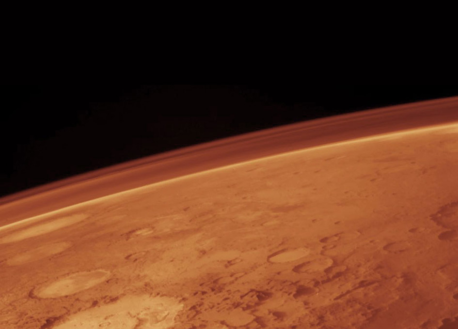 Asteroids and Comets Shower Mars with Organics