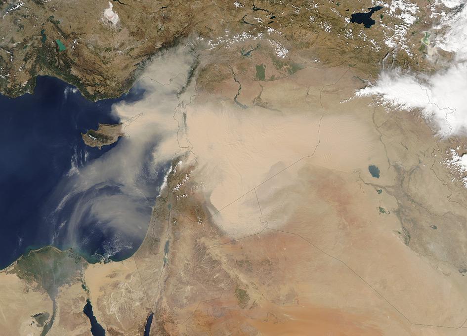 dust storms nasa - photo #7