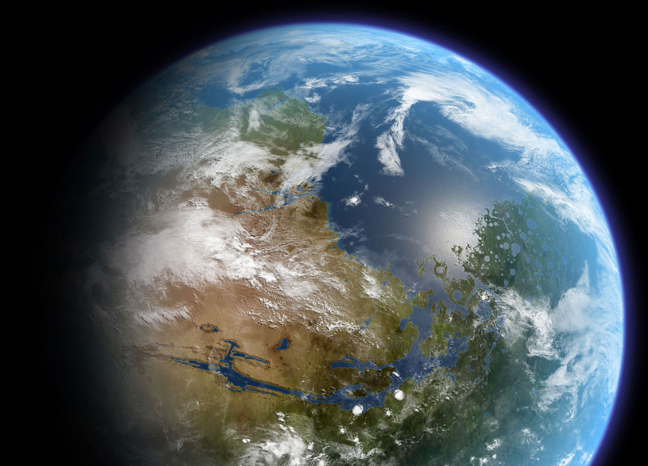 what is terraforming mars essay No, this isn't earth or an artistic rendering of some far away exoplanet it's mars — but a hypothetical version of the red planet after it's undergone a rather.