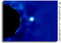 Video: Exoplanet β Pic b orbiting β Pictoris